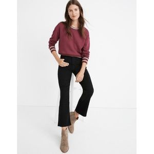 Madewell Cali Demi-Boot Crop Jeans, Size 29P
